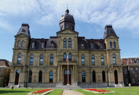 NB Legislature Building - PLC Project Summary