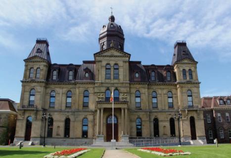 NB Legislature Building - PLC Project Summary