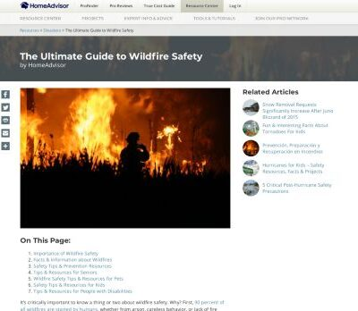 Wildfire Safety Guide